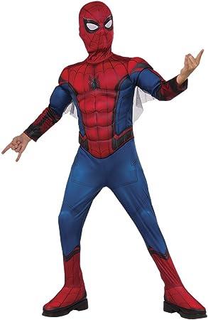 Rubies - Disfraz infantil de Spiderman, caja con músculos y ...