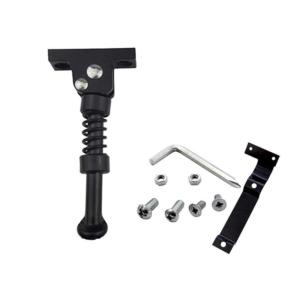 Webla - Soporte para patinete eléctrico de aleación de aluminio para el Mini/Mini Pro 9 de Xiaomi Ninebot con herramientas de tornillo, negro