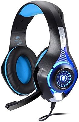 BlueFire Cascos Gaming PS4, Auriculares Gaming con Micrófono ...