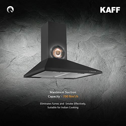 KAFF-BASE-LX-60-Matt-Black-Finish-Soft-Push-Controls-Aluminum-Filter