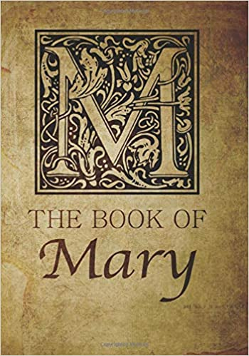 b38e4e2329 The Book of Mary: Personalized name monogramed letter M journal notebook in  antique distressed style. Great gift for writers, creative literary &  lovers of ...