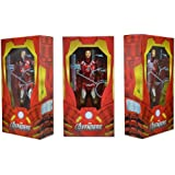 NECA Avengers Iron Man 18 Action Figure, Scale 1:4