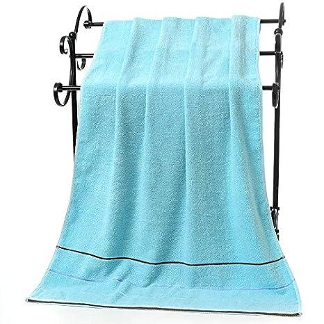 junchen 1 unidades 70 * 140 cm Patrón a rayas Algodón Suave Toalla para adultos pelo mano toallas de mano, b: Amazon.es: Jardín
