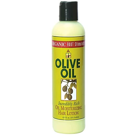Ors Olive Oil Moisturizing Hair Lotion 8.5 Ounce (251ml) (3 Pack)