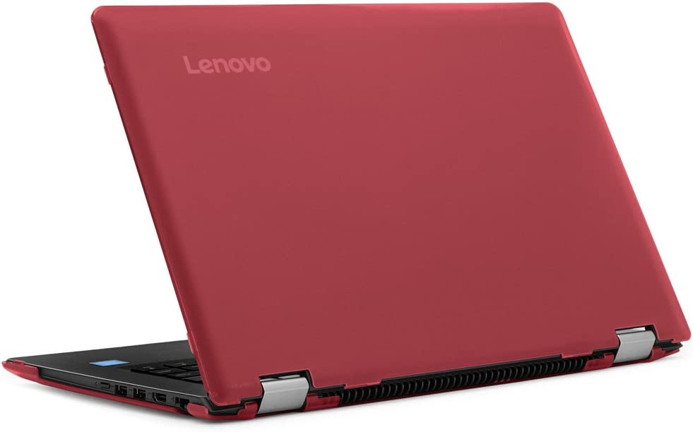 "mCover Hard Shell Case for New 14"" Lenovo Ideapad Flex 4 14 (4-1470/4-1435/4-1480, NOT Compatible with Newer Flex 5/6 Series) Laptop Computers (Red)"