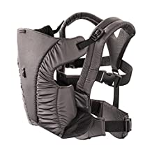 Evenflo Platinum 2-in-1 Soft Carrier, Charcoal Gray