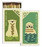 HomArt Matches - Stamp, Bear & Otter (Set of 50)
