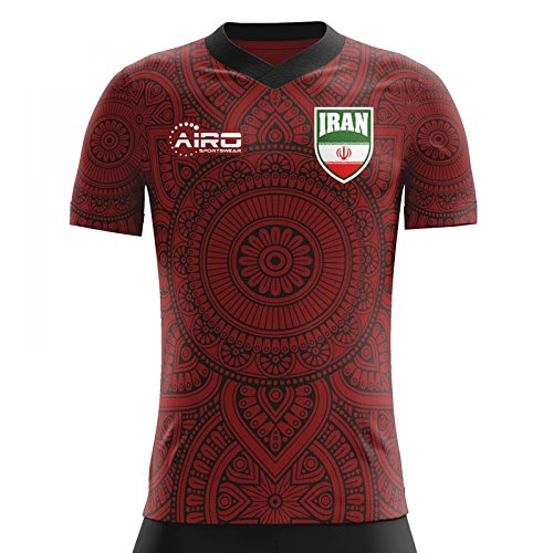 郵便骨髄質素なAiroスポーツウェア2018 – 2019イランAway Conceptフットボールシャツ