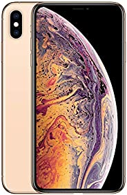 Apple iPhone XS Max [64GB, Gold] + Carrier Subscription [Cricket Wireless]