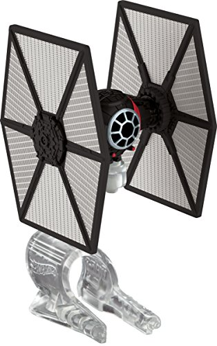 Hot Wheels Star Wars Starship First Order Special Forces TIE Fighter Vehicle]()