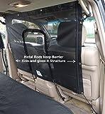 Car Seat Mesh Net Pet Barrier with zipper door 48