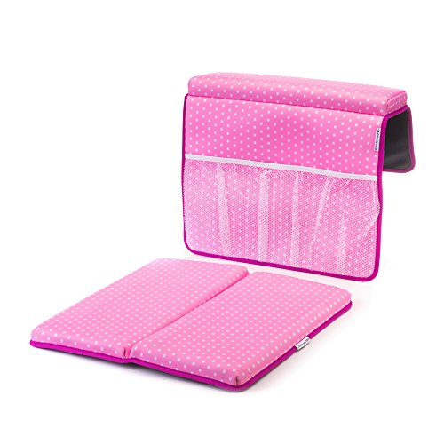 Strictly Stuff Baby Bath Kneeler and Elbow Pad (Pink). Thick, Soft Knee Padding. Durable Neoprene Material and Design. Non-Slip Backing with Suction Cups. Fits All tubs. Three Great Color Patterns. by Strictly Stuff (Image #10)