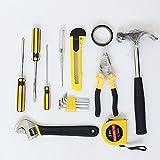 Ocamo 16pcs/Set Professional Vehicle Repair Kit Emergency Maintenance Set Tool Kit