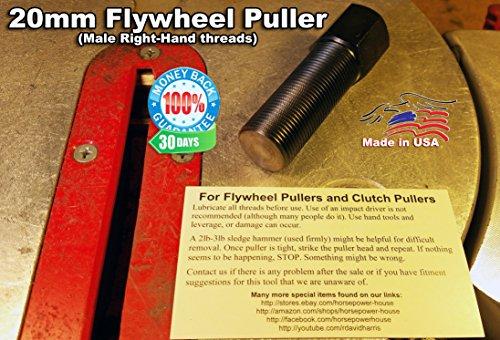 - US-Made 20mm Puller Tool to Remove Your Flywheel Stator Rotor Alternator Dynamo Magneto Generator @ 06-19 Kawasaki Vulcan VN900 Classic Custom