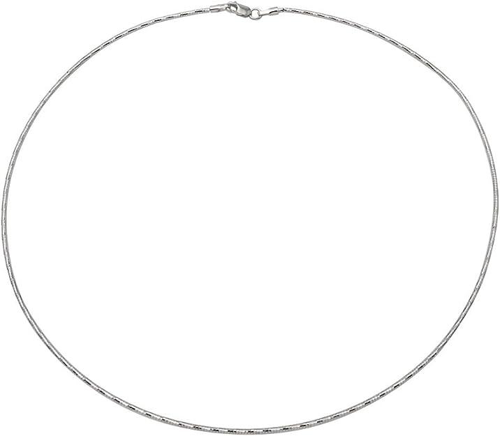 Princess Kylie Black Rhodium Plated Sterling Silver Tube 2 Diamond Cut Link Chain