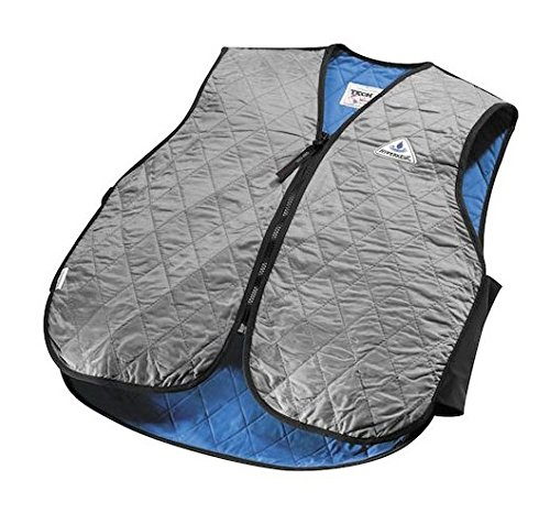 TechNiche International Adult HyperKewl Cooling Sport Vest, Small, Silver