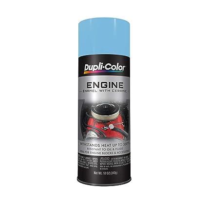 Dupli-Color EDE161607 Ceramic Pontiac Blue Metallic Engine Paint - 12 oz