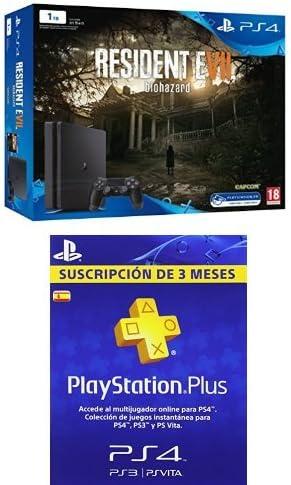 PlayStation 4 Slim (PS4) 1TB - Consola + Resident Evil VII + PSN ...