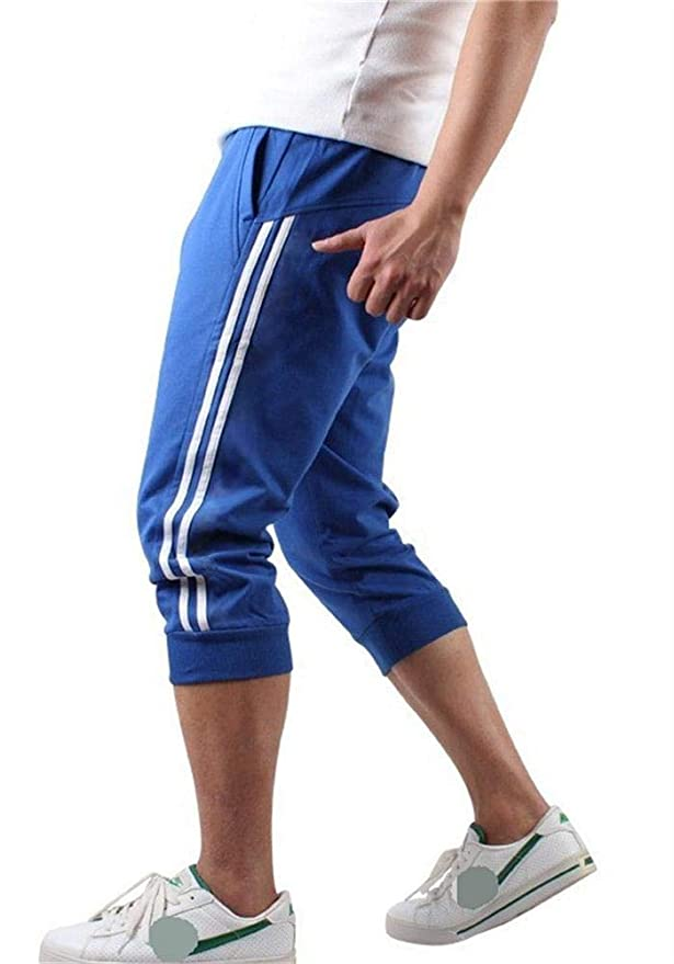 Hooleeger - Pantalones Pirata de chándal para Hombre Azul XXXL ...