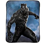 Disney Marvel Black Panther Hunter Plush Throw