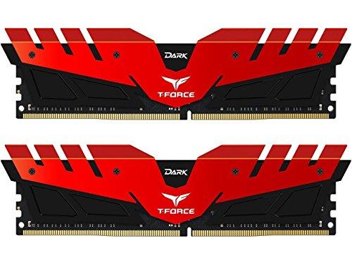 Team T-Force DARK 16GB (2 x 8GB) 288-Pin DDR4 SDRAM DDR4 3000 (PC4 24000) Memory Model - T Team