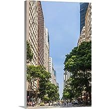 Guido Cozzi Premium Thick-Wrap Canvas Wall Art Print entitled Brazil, Rio de Janeiro, Avenida Rio Branco