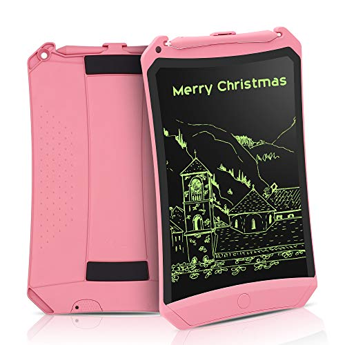 LCD Writing Tablet, 8.5 Inch Electronic Drawing Writing Board for Kids & Adults, Handwriting Paper Doodle Pad for School Office Fridge or Family Memo Electronic Graphic Drawing Tablet (Pink)