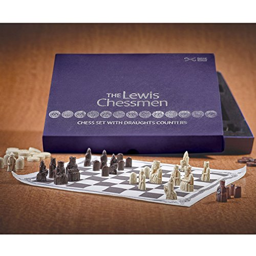 NATIONAL MUSEUMS SCOTLAND ENT Lewis Chessmen Chess Set - Based on Pieces from the National Museum of (Chessmen Chess)