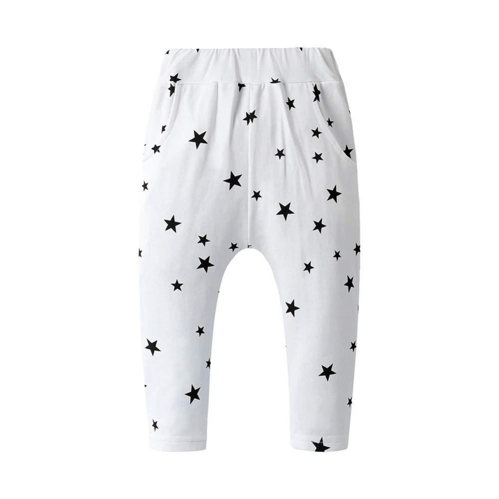 Little Boy Girl Trousers Stars Printed Harem Fashion Baby Leggings