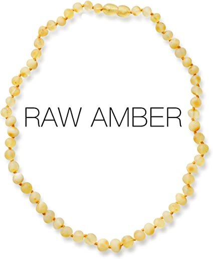 Raw natural adult Unpolished Baltic amber jewelry Baroque beads Yellow color amber Butterscotch amber necklace Healing amber for women