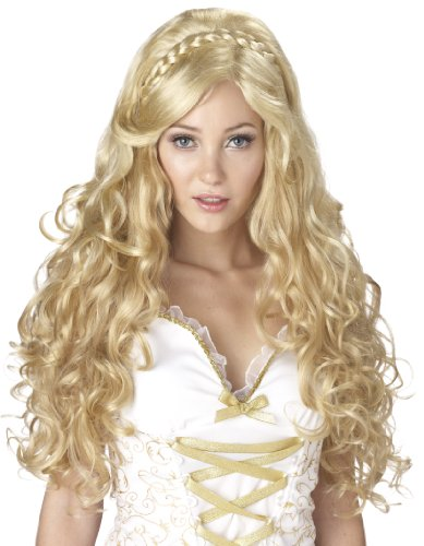California Costumes Mythic Goddess Wig, Blonde, One (Halloween Costume Blonde)