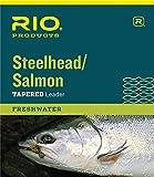 Best Salmon Flies - RIO Fly Fishing Salmon/Steelhead 9' 20Lb Leaders Review