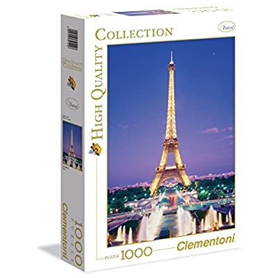 Clementoni 39122 High Quality Collection Puzzle Paris 1000 Pezzi