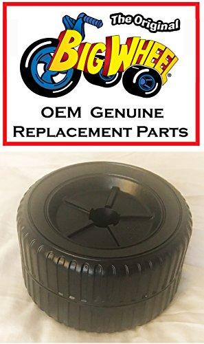 Black REAR WHEEL for The Original Big Wheel HOT CYCLE, Original Replacement Parts