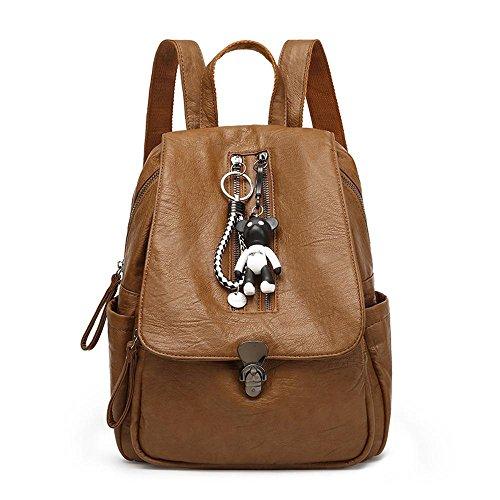 Aoligei Sac à bandoulière mode unique épaule sac à dos loisirs étudiante sac à main des femmes A