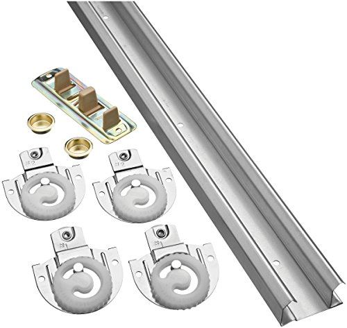 Stanley Sliding Door Hardware (Stanley Hardware S403-160 BPD60-00-72 By Pass Retail Set, Dial Adjust)