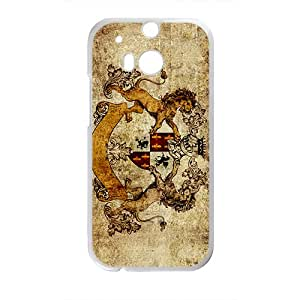Claasic Lion Pattern Hot Seller High Quality Case Cove For HTC M8