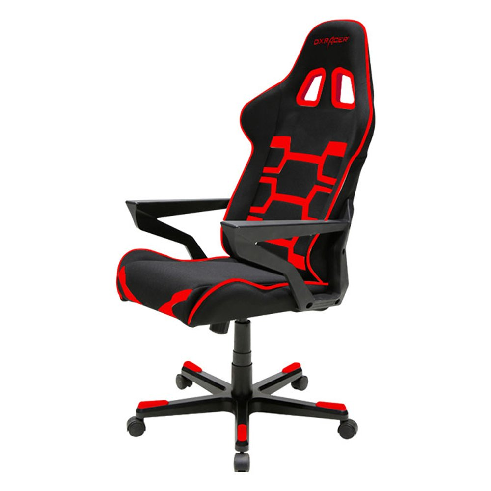 DXRacer Origin Series Gaming Chair - OH/OC168/NR - Black/Red