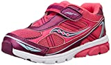 Saucony Girls' Baby Ride Sneaker (Toddler/Little Kid),Pink/Purple,4 W US Toddler