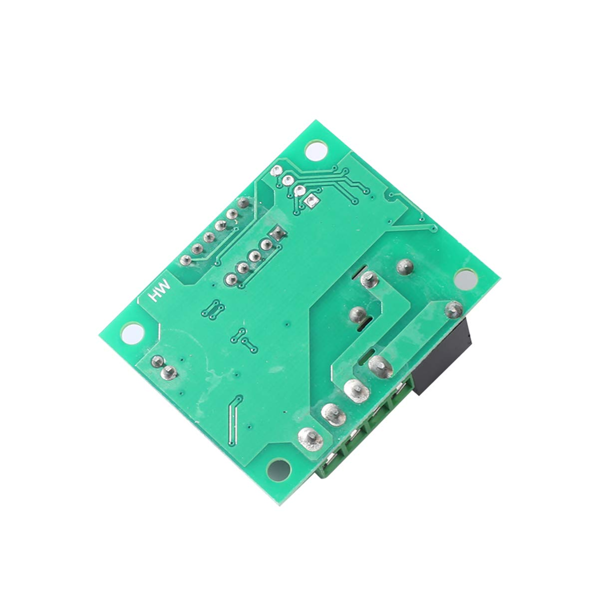 W1209 12V DC Digital Temperature Controller Board Micro Digital Thermostat 50-110/°C Electronic Temperature Cool Temp Control Module Switch with 10A One-Channel Relay and Waterproof with LED Display