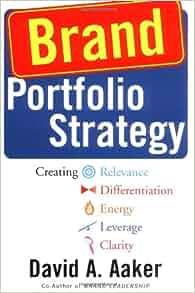 Brand Portfolio Strategy: Creating Relevance ...