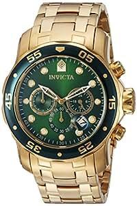 Amazon.com: Invicta Men's 0075 Pro Diver Chronograph 18k