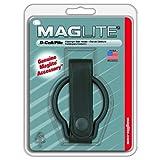 MAGLITE ASXD036 Plain Leather Belt Holder for D-Cell Flashlight (Black)