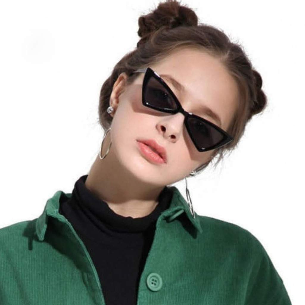 Holata Adult Irregular Eye Sunglasses Retro Eyewear Fashion Radiation Protection
