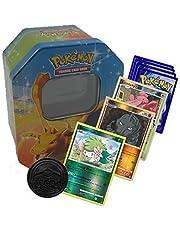 Pokémon Start-pakket, 50 kaarten, inclusief hologram- en zeldzame Pokémon-kaarten, met doos