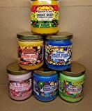 Smoke Odor Exterminator 13 oz Jar Candles Rasta Love Assorted, (6) Includes Rasta Love, Hippie Love, China Rain, Peace & Love, Nag Champa & Tatted.