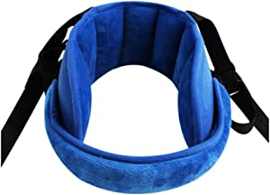 AINAAN Support Travel Car Seat Stroller Child Head Protection Neck Relief for Toddler Baby Kids, 2019, Blue