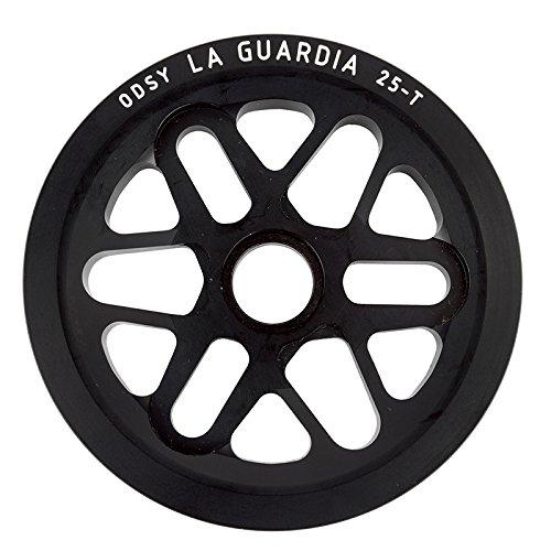 ODYSSEY 1-Piece 25T MDS2 LA Guardia Grips, Black