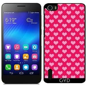 Funda para Huawei Honor 6 - Corazones De Color Rosa by Grab My Art
