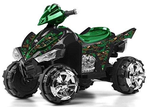Yukon Trail MS-EALASH Kids Electric ATV, Mini Quad/4 Wheeler, 24V 350W 2 Speed Parent Control w/Reverse, E-Tamer